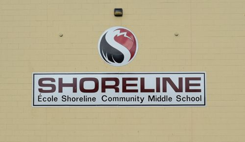 Shoreline School is located on Shoreline Drive in View Royal